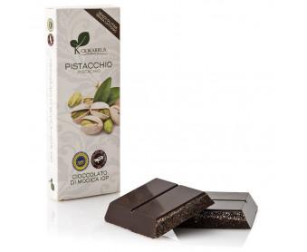 Cioccolato al pistacchio da 100 gr